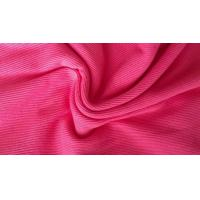 Wholesale Dye Cotton / CVC / TC 2x2 Rib Knit Fabric , Thick Ribbing Fabric For Cuffs And Hoodie from china suppliers