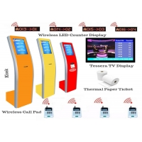 Wholesale 17 Inch Queue Ticket Machine from china suppliers
