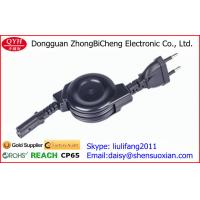 Wholesale Medical Grade 2 Bare Wires Retractable Power Cord Two Pin Figure 8 female plug from china suppliers