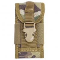 China Cell Phone Tactical Waist Pack Hiking , Molle Waist Pack Nylon wholesale