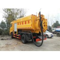 Wholesale DongFeng Septic Vacuum Trucks Combined Jetting , Sewage Collection Truck 8000L from china suppliers