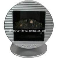 Energy Efficient Silver Freestanding Portable Electric Fireplace 1kw 2kw For Living Room Of