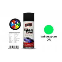 Luminous Green Color Rubber Coat Spray Paint Mixture Msds