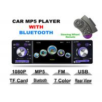 Wholesale Front USB 2.0 Port 4 Inch Touch Screen Cd Player For Car With Bluetooth Detachable Panel from china suppliers