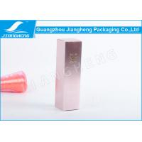 Eco - Friendly Cosmetic Packaging Boxes With CMYK Printing , 53X53X185mm