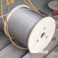 Wholesale Industrial Austenitic AISI316 Stainless Steel Wire Rope 6x37 Customized Length from china suppliers