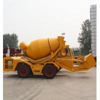 Wholesale 2.5 cbm self loading truck concrete mixers from china suppliers