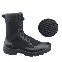 China Breathable Mesh Leather Military Tactical Boots For Training Special Forces wholesale