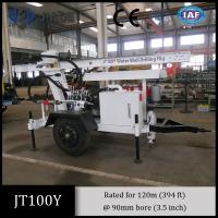China Jt100y All-Hydraulic Portable Small Drilling Rig for small shallow water well drilling wholesale