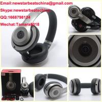 Wholesale HOT!!!New matte black/ Titanium silver/blue beats wireless studio v2 headphone beats solo 2 v2 by dr dre from china suppliers