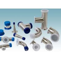 Wholesale AISI 304 Stainless Steel Sanitary Fittings Long 45 Degree Elbow For Beverage from china suppliers
