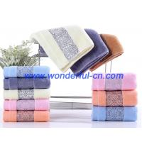 Wholesale Bulk fluffy luxury embroidered organic cotton face turkish towels from china suppliers