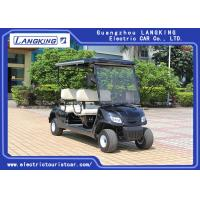 Wholesale Black 4 Seaters Powerful Electric Club Car Golf Buggy Steel Framework from china suppliers