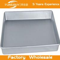 Wholesale High quality non-stick bread baking sheet-stainless steel serving tray-Perforated Corrugated Baking Trays from china suppliers