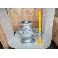 Buy cheap 2 pc body Floating Type full bore Flanged soft seated side entry ball valve from wholesalers