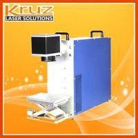 Fiber laser marking machine 10W, applied to metal, plastic , all kinds of materials marking