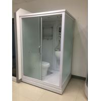 Wholesale Square Complete Shower Enclosures Shower House With Washroom / Mirror / Toilet from china suppliers