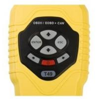 Wholesale Multilingual CAN OBDII basic obd  Car Diagnostic Code Scanner - T49 16 - pin Interface from china suppliers