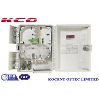 Buy cheap KCO-ODP-16W Water-proof Fiber Optic Splitter Box For 2*16 1*16 PLC Splitter Terminal Box from wholesalers