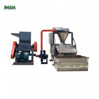 Wholesale Scrap Cable Recycling Machine , Copper Wire Granulator With Belt Conveyor from china suppliers
