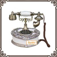 Wholesale Vintage home decoration antique telephone resin material TL0212WS from china suppliers