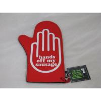 Wholesale HANDS OFF MY SAUSAGE NOVELTY NEOPRENE BBQ OVEN MITT from china suppliers