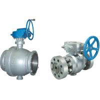 Wholesale Worm Gear Reducer Port  Ball Valve 2pc Flanged Rf Ball Valve 150LB from china suppliers
