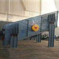 Wholesale Aggregate Vibrating Grizzly Screen , Round Vibrating Screen Customization Voltage from china suppliers