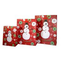 Wholesale 210gsm C1S paper Offset Paper Kids Personalized Christmas Gift Bags for packaging from china suppliers
