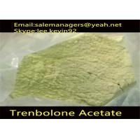 China Cas 10161-34-9 Injectable Anabolic Steroids Trenbolone Acetate Powder / Tren Acetate on sale