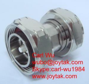 China 7/16 DIN male to 7/16 DIN male RF adapter 7/16 DIN plug to plug DIN-JJ on sale