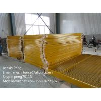 Wholesale Best price of galvanzied and powder coated welded mesh temporary construction fencing from china suppliers