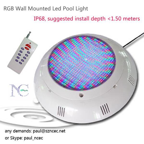 Wall Mounted Pool Lights : RGB Wall Mounted Led Pool Light of item 105497630