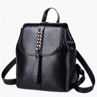 Wholesale Waterproof Leisure Ladies Two Layer Cowhide Duffel Backpack from china suppliers