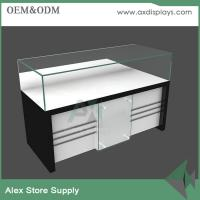 Customized Glass Mobile Counter Design Cabinet Mobile