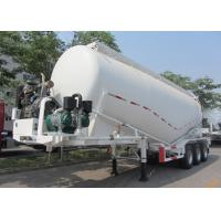 Wholesale 33000L Dry Bulk Cement Powder Tanker Semi Trailers With Carbon Steel Material from china suppliers