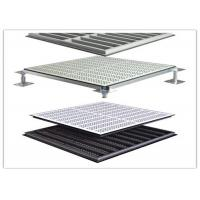 China SPCC Hard Steel Raised Flooring Tiles For Radio And Television Editorial Room wholesale