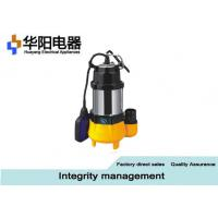 Wholesale Stainless Steel Submersible Sewage Pumps Well Pool Water Supply 0.18 KW Min from china suppliers