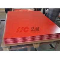 Flame Resistant Red Laminate Sheet High - Flexural And High - Impact Strength