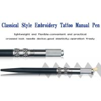 Wholesale Metal Permanent Makeup Tools Black Manual Eyebrow Tattoo Pen For Cosmetic Beauty from china suppliers