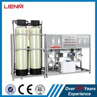 Wholesale RO water purifier water treatment with softener, reverse osmosis, Satiness steel, glass fiber, 500L-20000L from china suppliers