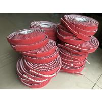 Wholesale Customized PU Timing Belt , Synchronous Belts And Pulleys With Backings from china suppliers