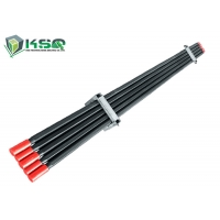 Wholesale T38Hex32R32 Extension Rod Threaded Drill Rod T38Hex35R32 Drifter Rod drill rod steel from china suppliers