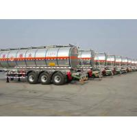 Wholesale Stainless Steel Tanker Trailer 42000L Insulated Carbon Steel Tanker Semi Trailer from china suppliers