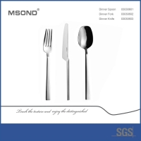 Wholesale Mirror Polish 304 18/10 Stainless Steel Cutlery Set from china suppliers