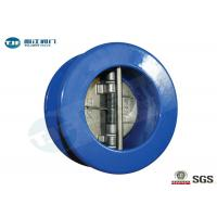 Wholesale Dual Plate Check Valve , Cast Iron Wafer Type Non Return Valve PN 10 from china suppliers