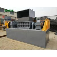 Wholesale Solid Material Double Shaft Shredder Hammer Crusher Machine For Electronic Waste from china suppliers