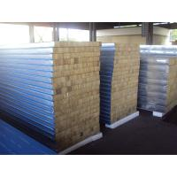 Rock Wool Sandwich Panel : Rock wool sandwich panel of steel portable