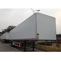 Wholesale Insulated GRP Sandwich Refrigerated Truck Trailer 2 Axles 40 Foot For Food Fruits from china suppliers
