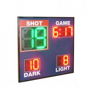 Buy cheap Economy Model Led Basketball Scoreboard , Live Basketball Scoreboard With Shot from wholesalers
